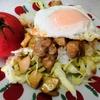 【1食139円】大葉にんにく醤油漬けde和風ガパオライスの自炊レシピ