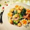 エビとブロッコリのクリスマスマスサラダ☆ククパトップ10入レシピ