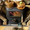 【動画で綴る炎のブログ(笑)】実録!薪ストーブde超美味しいお鍋