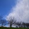 迫る雲と晴れ間