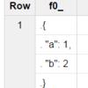BigQueryのWebコンソールでJSONを整形して出力(pretty print)