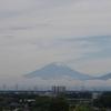 お久しぶりの「富士山」。