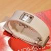ダイソー 腕時計 [ファッションデジタルウォッチ スクエアー(白)]買ってみた