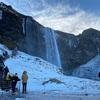 2/16 アイスランド4日目 滝の裏側に行った セリャラントスフォスの滝