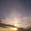 2016年10月19日(水)6:24分の空