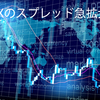 FXの急騰急落とスプレッド拡大のリスクと拡大する理由。フラッシュ・クラッシュとスプレッド拡大