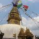 【ネパール旅行記Day.2】スワヤンブナート寺院から見おろすカトマンズの景色! タルチョがはためくお寺巡り