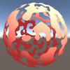 【Unity】3D用のディゾルブシェーダを導入する