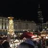 コロナウイルス影響下のドレスデンクリスマスマーケット会場 現在の様子