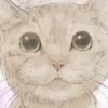 【イラスト】猫:モコちゃん【似顔絵】
