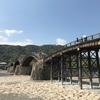山口県錦帯橋で、ひと休みでした🌉
