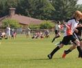 サッカー少年。親子で熱中症を防ぐ!