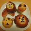お正月干支のパンのコレクション(動物パン)