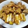 今日の晩飯 焼き鳥丼を作ってみた