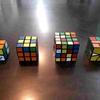 【おすすめ立体パズル】ルービックキューブに熱中する息子と主人