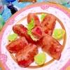 ジューシィ貴陽プラムの甘酸っぱ〜い豚肉巻き