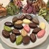 モンロワールのリーフメモリー。バラマキ、個別、ギフトに使えるリーズナブルな一口チョコレート。