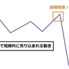 ★FXの経済指標を逆手に取ったトレード手法
