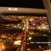 【ラスベガス】ストラトスフィアタワー (Stratosphere Hotel & Casino)ホテルの紹介&夜景を楽しみました!