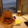 那覇空港のANAラウンジに「ポークたまごおにぎり」を持込んで食してみました