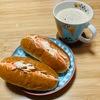 いつの日かの朝ごはん。簡単だけどいつもと違うものが食べたい