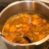 豚バラ軟骨(パイカ)と白モツの味噌煮込み