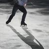 毎日更新【2021年6月7日】 ◆今日の1枚 21年4月18日、世界フィギュアスケート国別対抗戦のエキシビションで演技する宇野昌磨