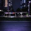 Bus Stop【夜さんぽスナップ写真】