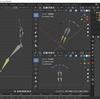 Blender2.8でIK(インバースキネマティクス)を使った人型アーマチュアを作成する その4(ルートボーンの設定)