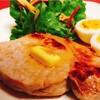 豚ロースとカルディ「りんごチップ燻製バター」【ゆる糖質食】