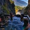 イタリアで絶景露天風呂に浸かる