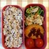 肉野菜炒め&コロッケ弁当