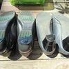 靴のかかと修理自分でやってみました大成功!!