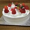 【クリスマスケーキ】我が家にもようやくクリスマスが訪れました
