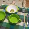【年少4歳児】自分で配膳しよう【生活習慣を身につける】