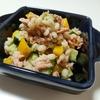 和風『もち麦と野菜とツナの胡麻サラダ』のレシピ【もち麦で腸活♡⑤】