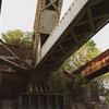 錆びた鉄橋