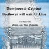 私の7曲バトン・4曲目 ~ 藤若亜子マッシュアップ「Beethoven will wait for Elise」(エリーゼの雨傘)