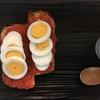 寒露のメニュー トマトソースとゆで卵のタルティーヌ、甘酒入りシフォンケーキなど
