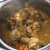 鶏肉とひよこ豆のカレー