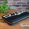レザークラフト教室 本日20時より受付開始!&ハラコのお財布の制作のご紹介