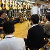 【エレキベース】moonギターズのメーカー研修を実施しました。