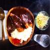 3月3日から改装工事やからマグロのソムリエ楽彩のママのカレーを食べて満足🤗👊