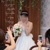 【結婚式当日レポ24】披露宴*新婦中座・サプライズで花嫁のバトンタッチ