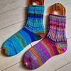 noteに靴下の編み方まとめました