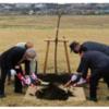 相模総合補給廠共同使用区域で桜の植樹式を実施! (2021年3月26日)