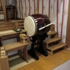 拝殿の太鼓が新調されました