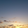 2016年11月26日(土)6:38分の空