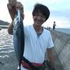 沼津周辺ショアジギング釣行!!