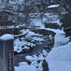 雪のなかの橋